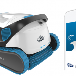 Odkurzacz basenowy sterowany za pomocą smartfona lub tabletu